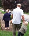 Baseline Walk With Sam.