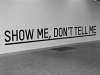 Show Me Don't Tell Me